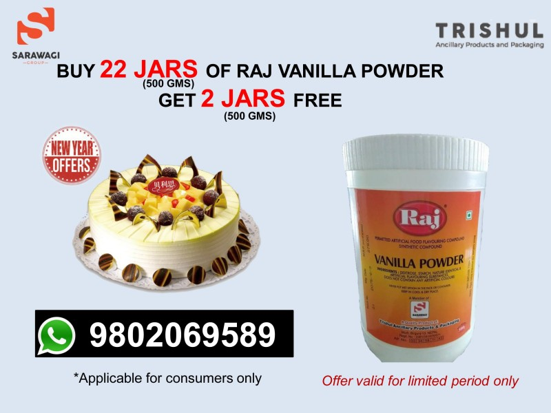 Tapp Vanilla Powder Offer Image