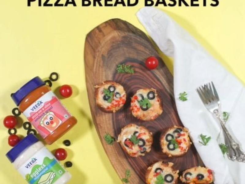 Pizza Bread Basket Image