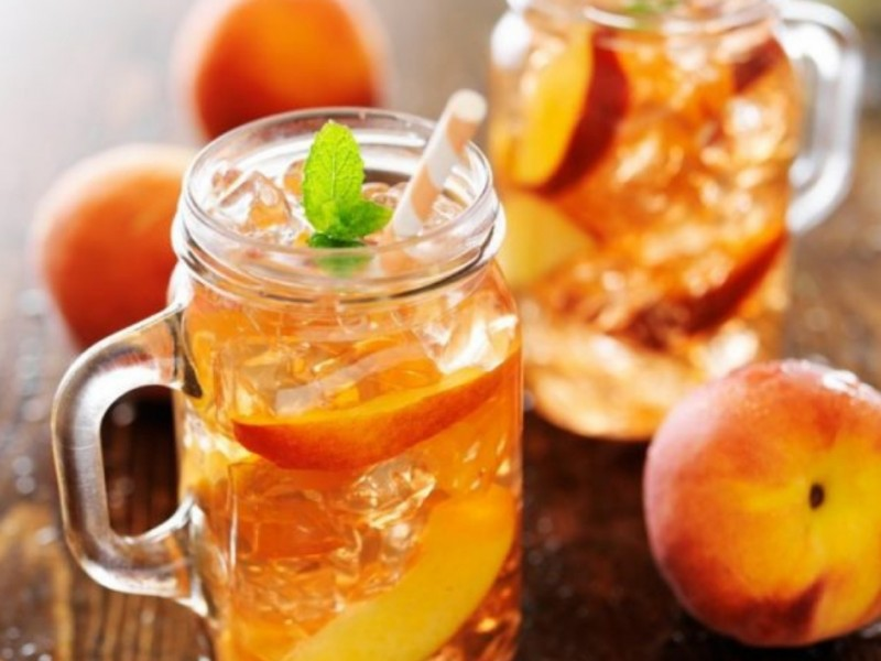 FDL PEACH ICE TEA SYRUP Image