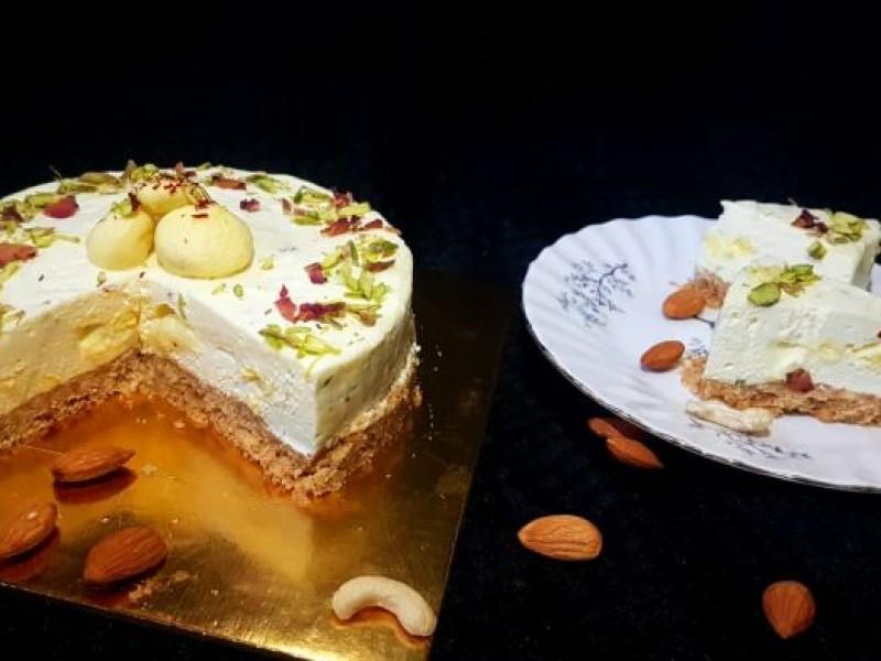 Rasmalai Fusion Cheesecake Image