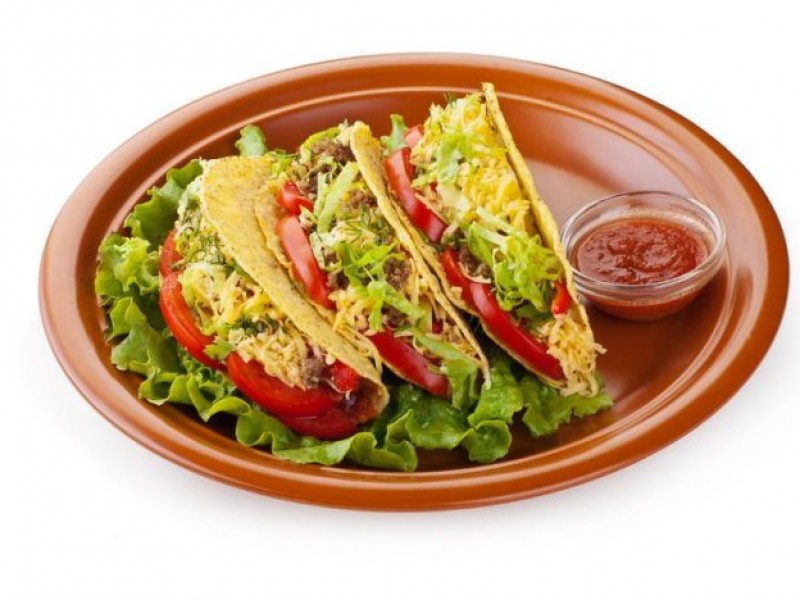 Vegetable Tacos Image