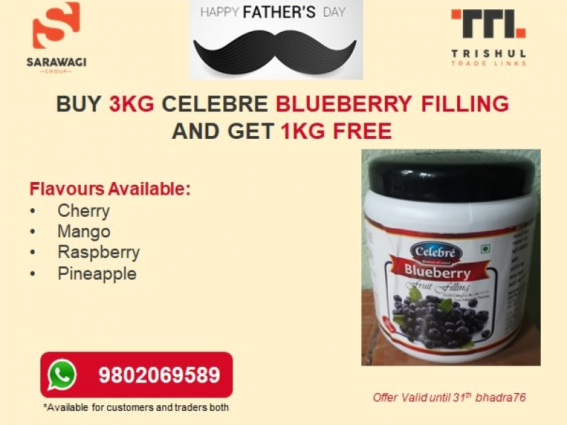 Celebre Blueberry Fruit Filling Image