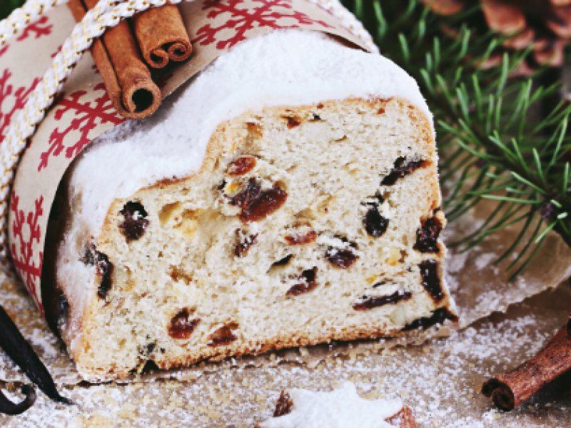 German Stollen Image