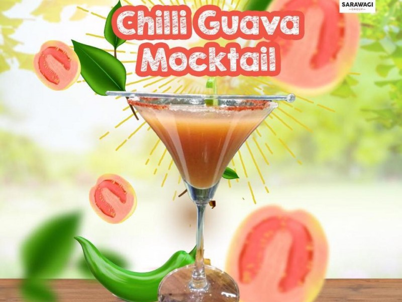 Chilli Guava Mocktail Image