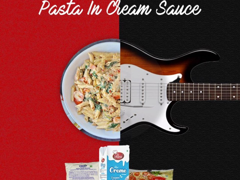 Pasta in Cream Sauce Image