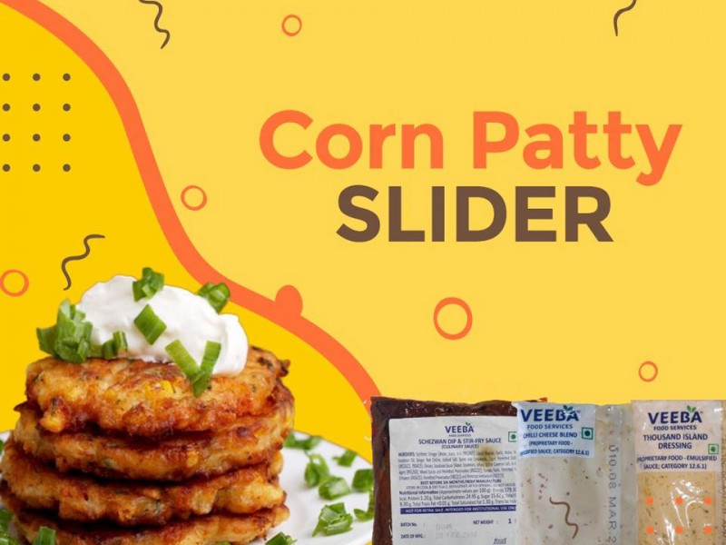 Corn Patty Sliders Image