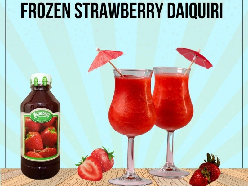 Frozen Strawberry Daiquiri Image