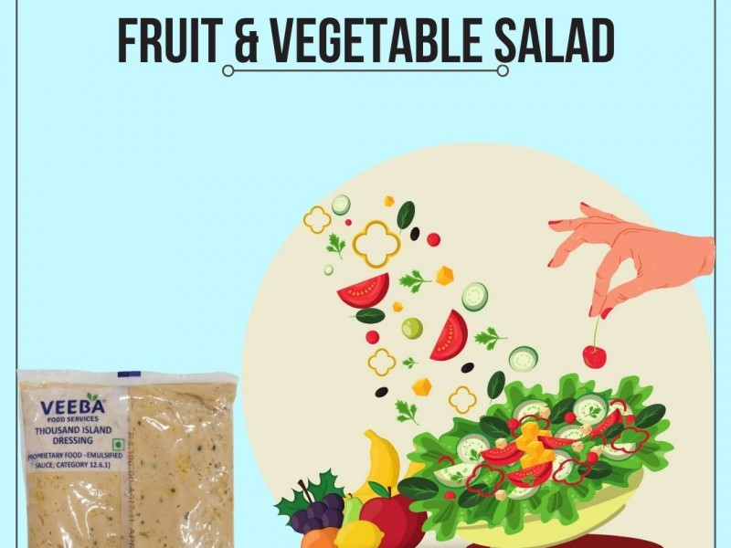 Fruit & Vegetable Salad Image