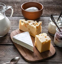 Dairy and Ice cream Ingredients Image