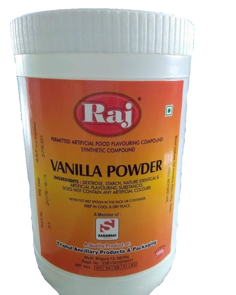 Raj Vanilla Powder (Jar) Image