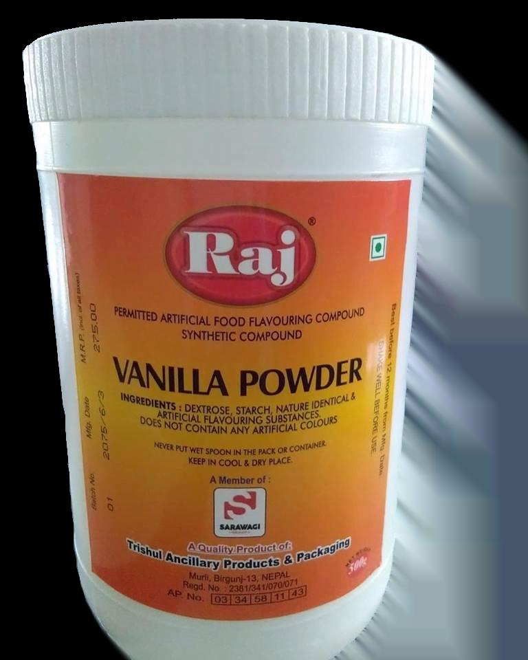 Raj Vanilla Powder (Jar) Image
