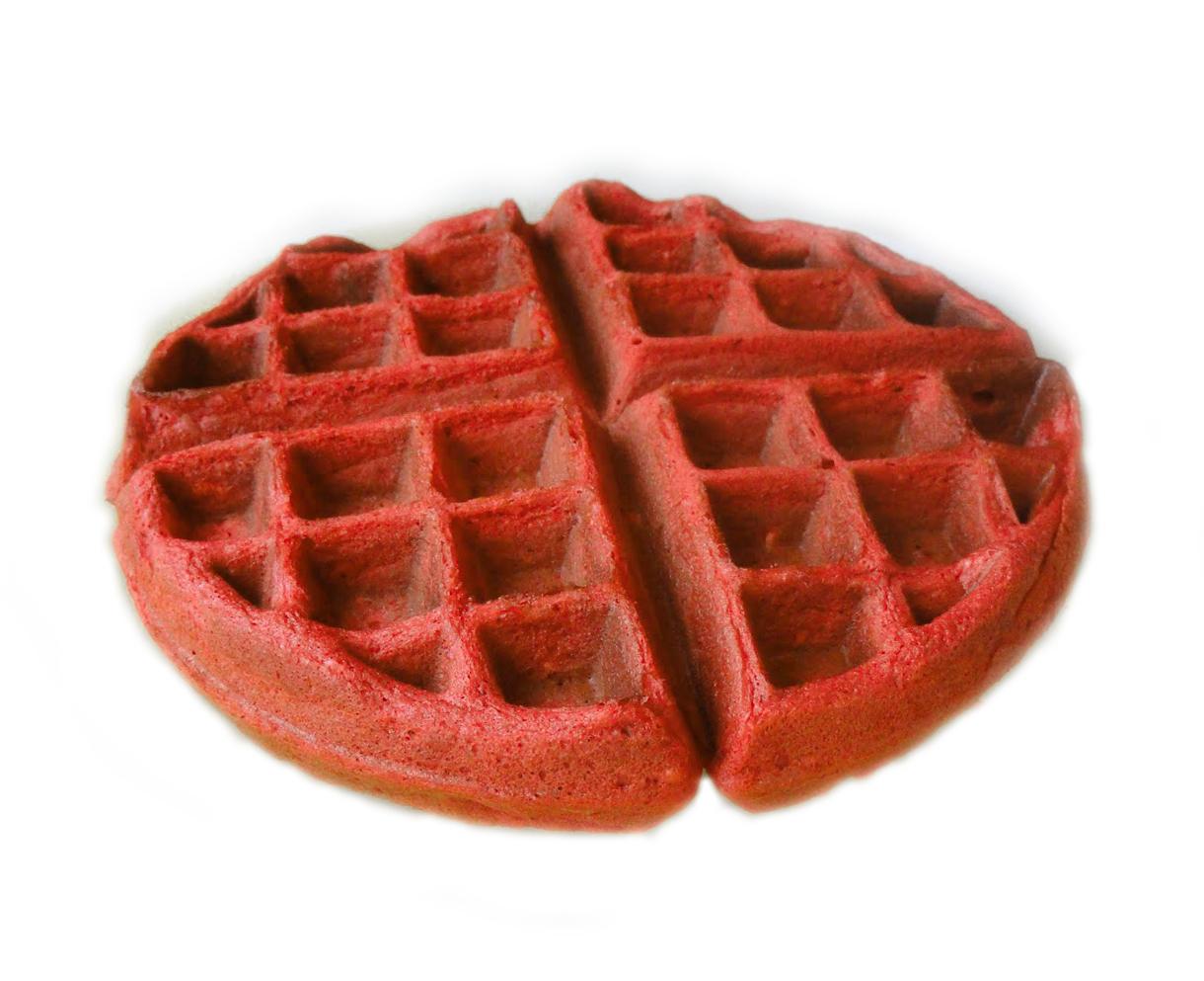 Red Velvet Waffle Mix – Veg Image