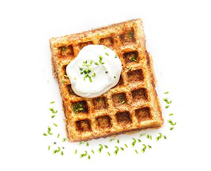 Savoury Cheese Waffle Mix Image