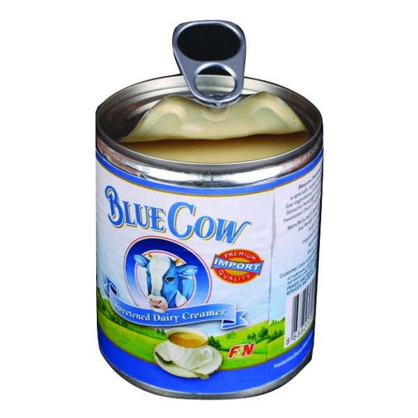 Blue Cow (Easy Opening Can) Image