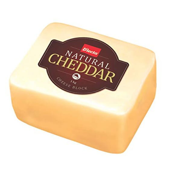 Natural Cheddar Cheese Image