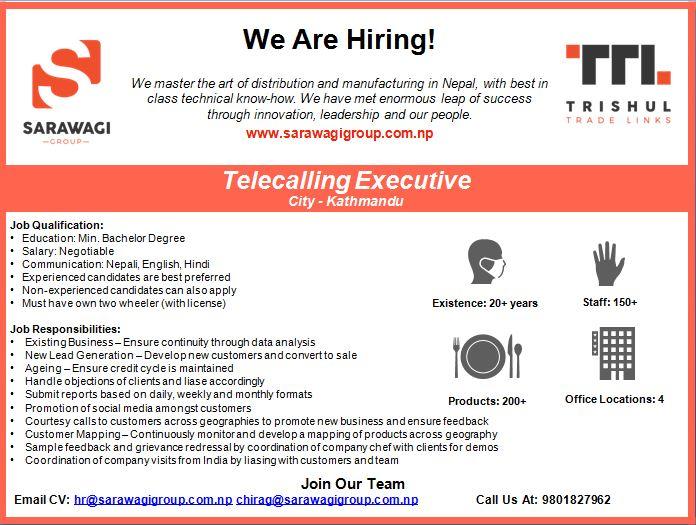 Telecalling Executive Image