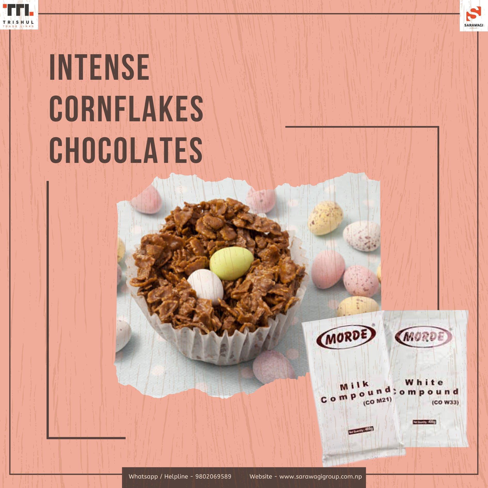 Intense Cornflakes Chocolate Image