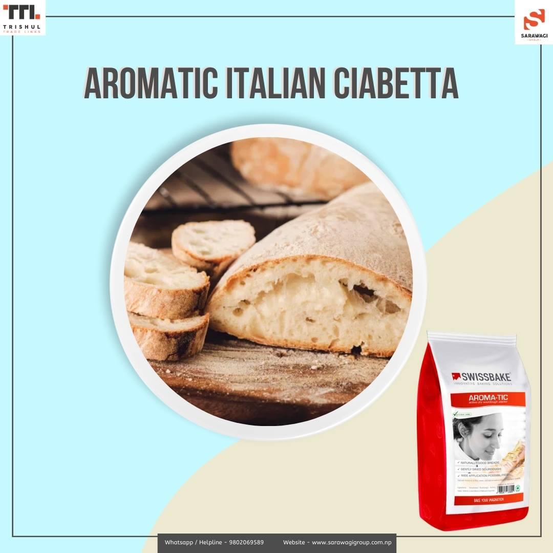 Aromatic Italian Ciabetta Image