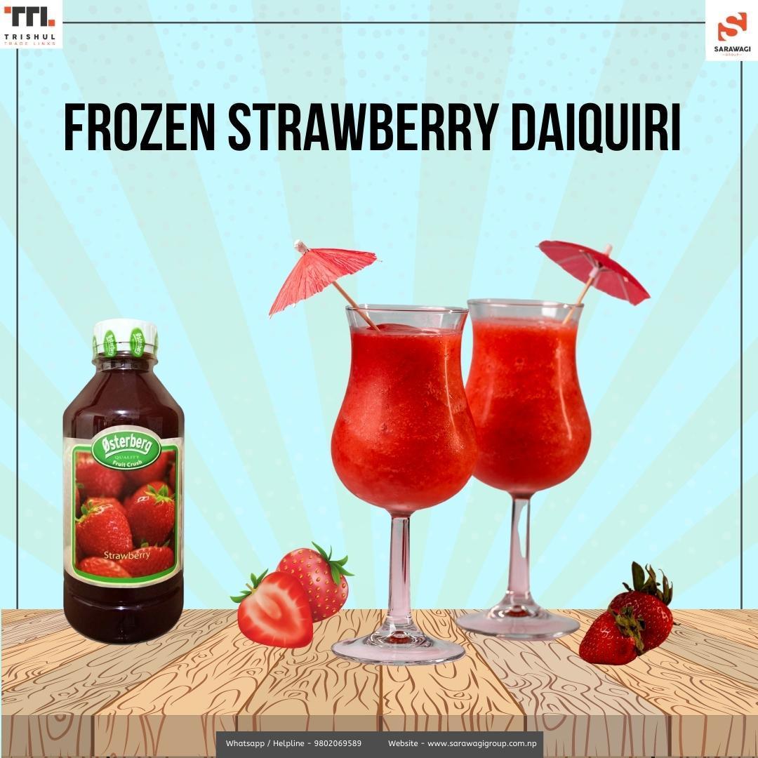 Frozen Strawberry Daiquiri Image