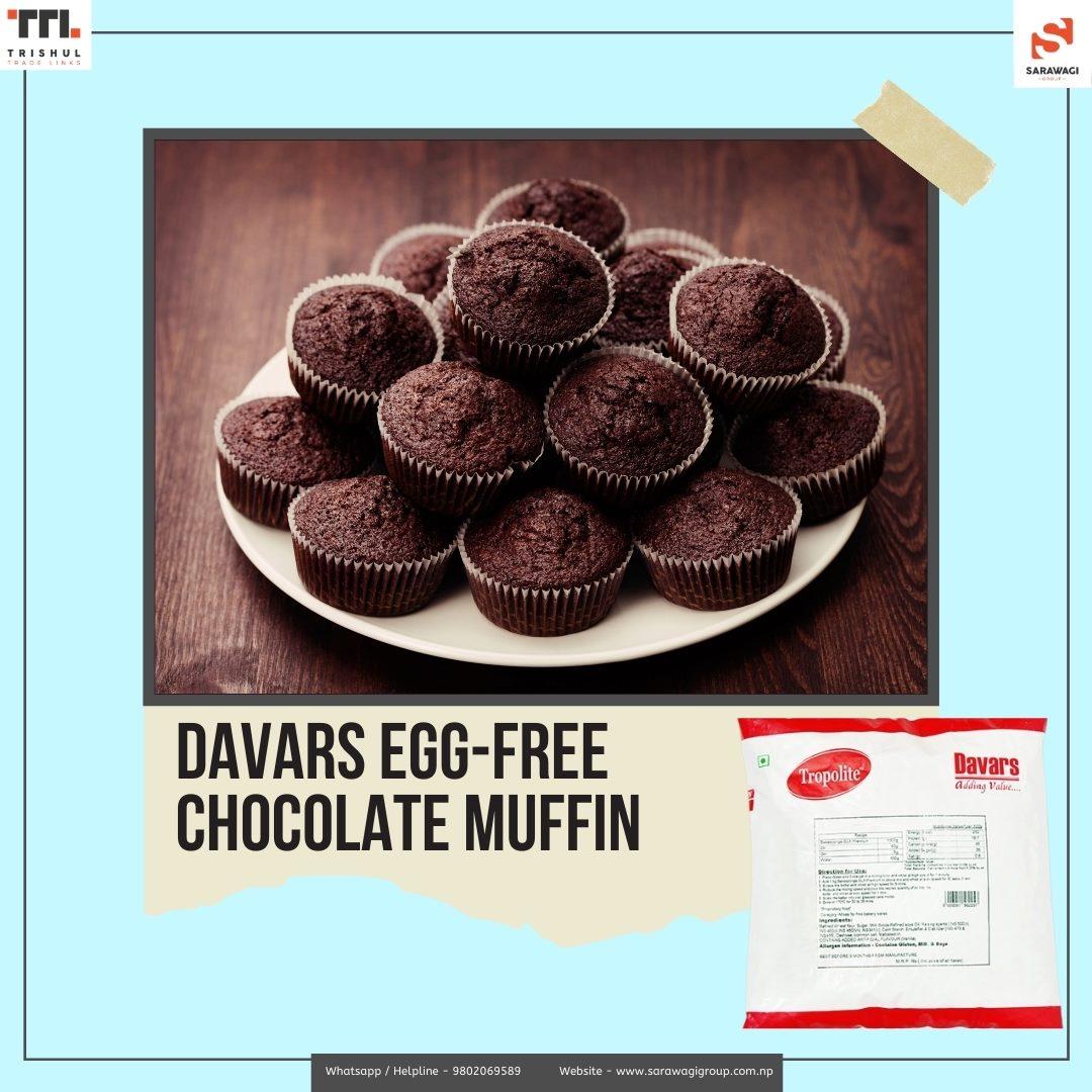 Davars Chocolate Muffin Image