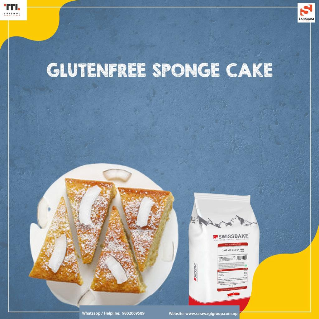 GLUTENFREE SPONGE CAKE Image